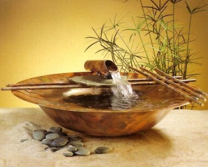 Nature Bowl medium Water Fountains Photo