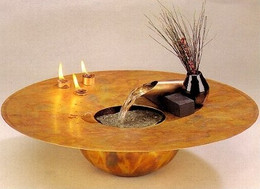 Water and Fire Tabletop Fountain #701