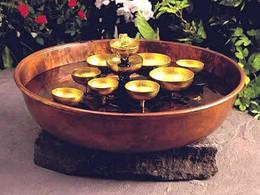 Woodstock Water Bell Fountain