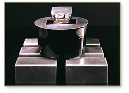 Saa-Deh Modern Black Tabletop Fountain #1022