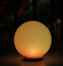 Magic Globe Solar Light by Smart Solar, 8 Inch Diameter