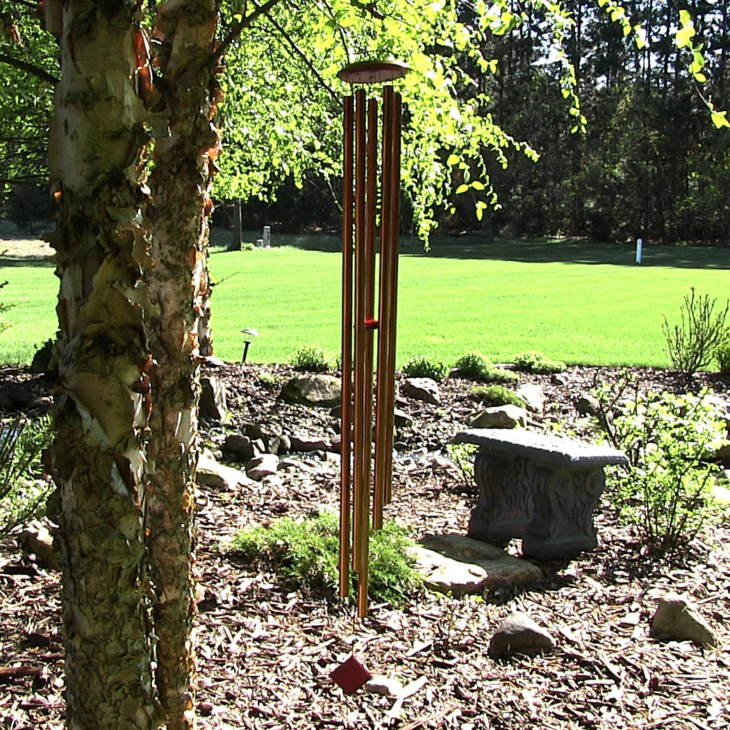 Woodstock Encore Collection Bronze Chimes of Venus Windchime Image 714