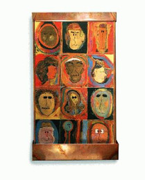 Psychoanalysis Wall Fountain