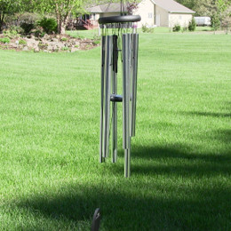 Woodstock Pachelbel Canon Wind Chime - Silver