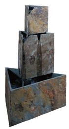 Kenroy Stacked Triangles Outdoor Fountain