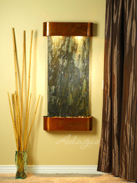 Rustic Copper with Green Slate