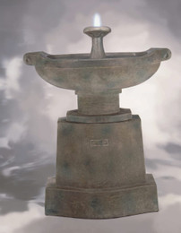 Prairie Urn Cast Stone Fountain by Henri Studio
