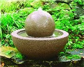 Bowl & Sphere Fountain