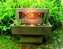 Gothic Outdoor Electric Water Fountain