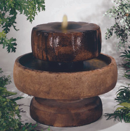 Little Millstone Cast Stone Fountain by Henri Studio