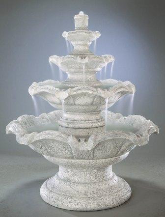 Quattro Classic Tier Outdoor Fountain Picture 9