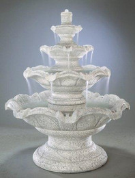 Quattro Classic Cast Stone Tiered Fountain by Henri Studio