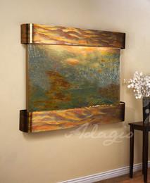 Rustic Copper, Feathestone Slate,  Round Corners