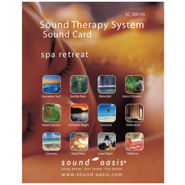 Sound Oasis Spa Retreat Sound Card for S-650 Sound Machine