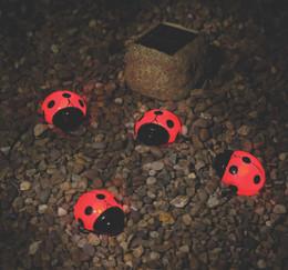 Smart Solar Ladybug Solar Light Set of 4