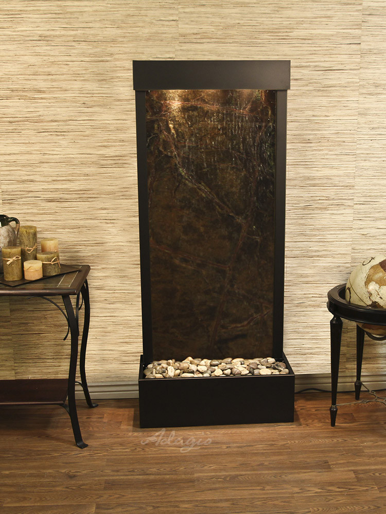 Adagio Harmony River Floor Fountain Flush Mount Water