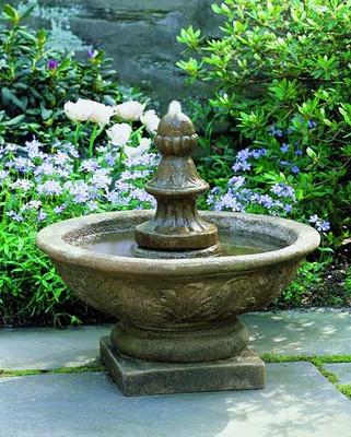 Bordine Finial Fountain By Campania International Water