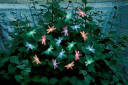 Dragonfly  Solar String Lights- 20 LED Light String