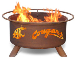 Washington State Cougars Fire Pit