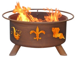 Mardi Gras Fire Pit