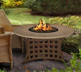 La Costa Chat Height Fire Pit by California Outdoor Concepts