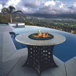 California Outdoor Concepts La Costa Dining Fire Pit Table