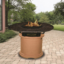 Del Mar Dining Fire Pit Table by Outdoor Concepts
