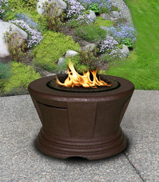 San Simeon Chat Height Fire Pit without Granite Top