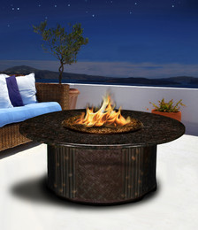 Tradewinds Chat Fire Pit Table by California Outdoor Concepts