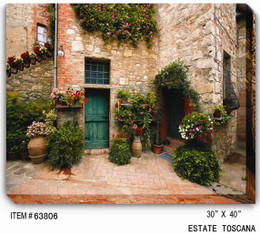 Estate Toscana Canvas Wall Art
