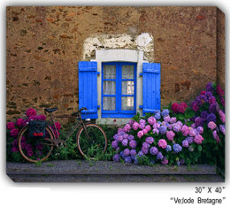 Velode Bretagne Canvas Wall Art