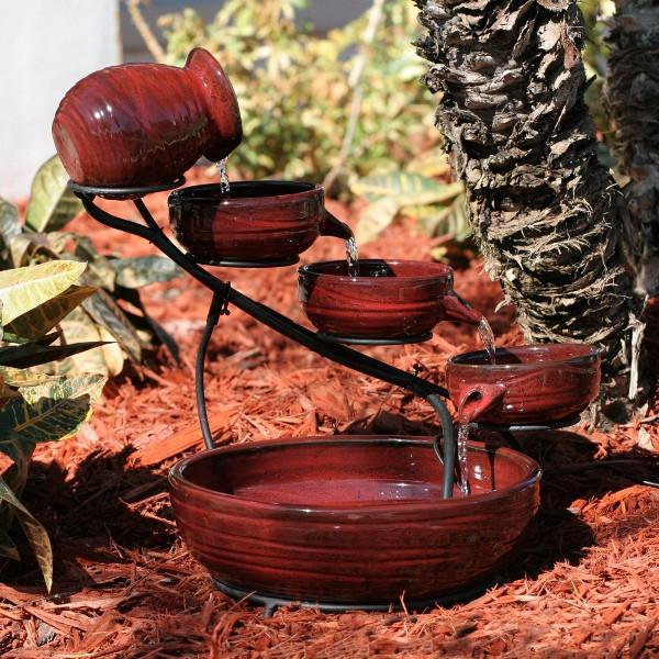 Smart Solar Lava Lava Ceramic Solar Cascade Picture 472