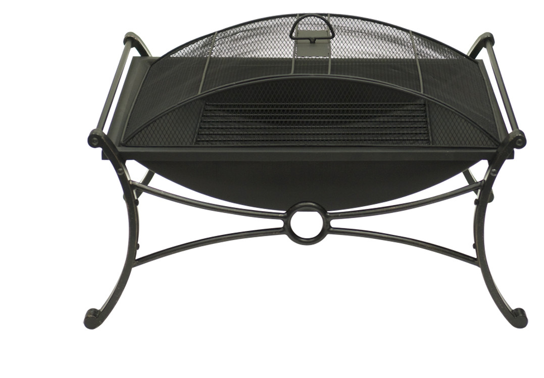 Rectangular Design Bronze Fire Pit Spark Screen Guard Picture 392
