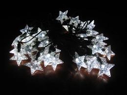 Stars Solar Light String