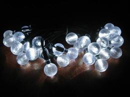 Crystal Balls Solar Light String