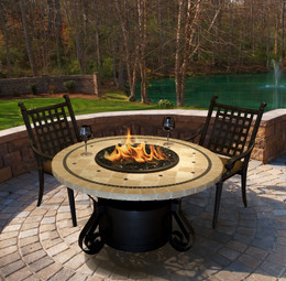 Solano Chat Fire Pit Table by California Outdoor Concepts