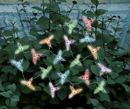 Hummingbird Solar String Lights- 20 LED Light String