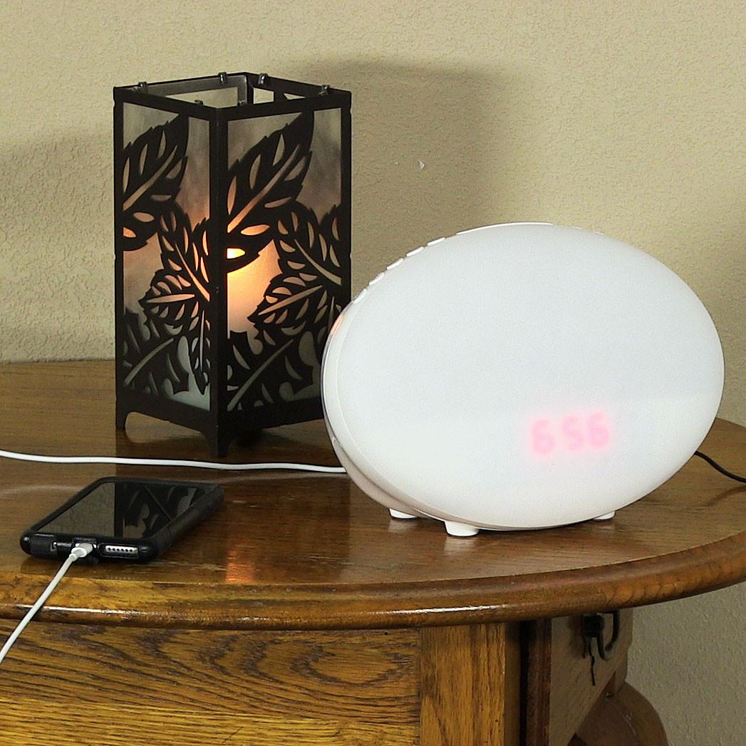 Soleil Sleep Spa Clock Custom Lights Amp Sounds