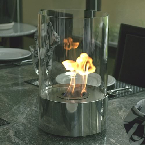 Accenda Tabletop Bio Ethanol Fireplace Picture 385