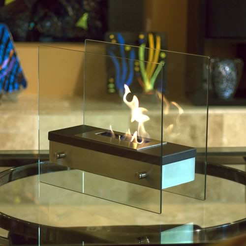 Nu Flame Ardore Tabletop Bio Ethanol Fireplace Picture 310