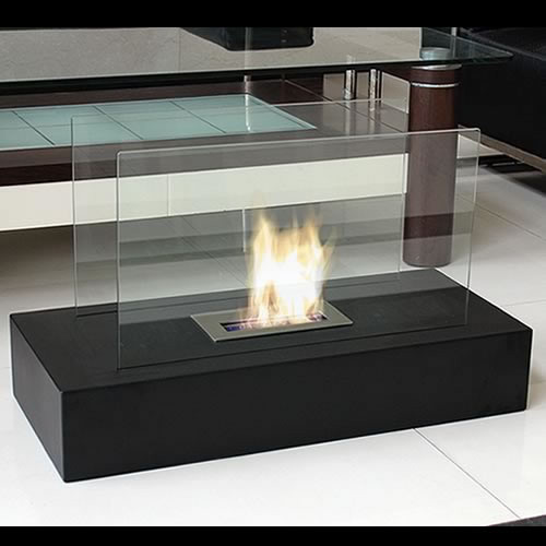 Fiamme Freestanding Bio Ethanol Fuel Fireplace Picture 159
