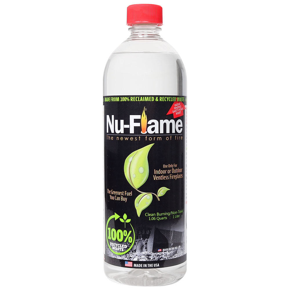 bluworld nu flame bioethanol fuel 1 liter bottles. Black Bedroom Furniture Sets. Home Design Ideas