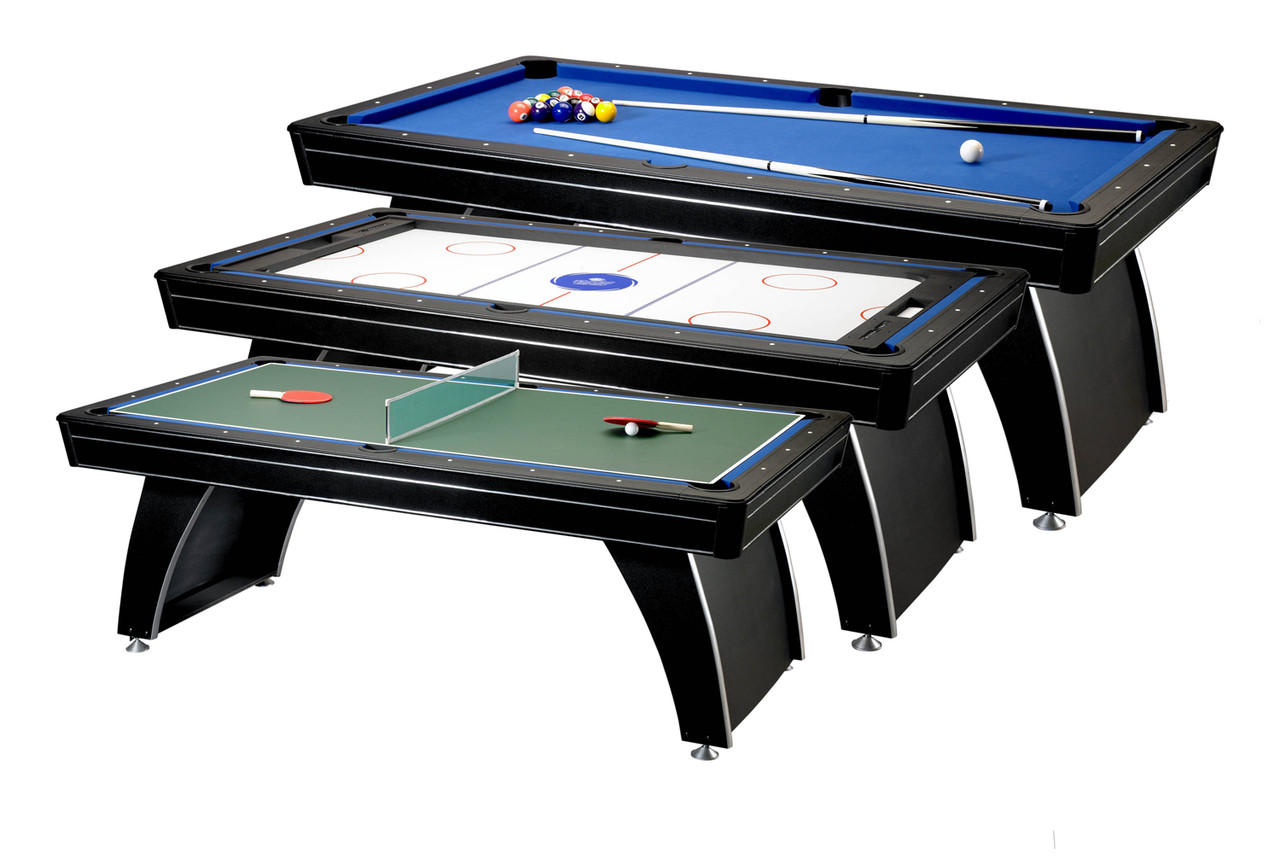 3 in 1 fat cat phoenix multi game table gaming table image 1 gamestrikefo Images