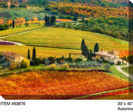 Autunno Canvas Wall Art