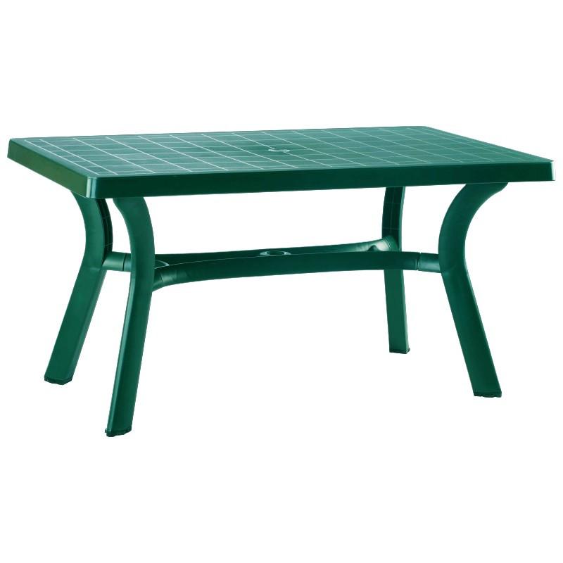 Sunrise Resin Rectangle Table Teak HD Picture 363