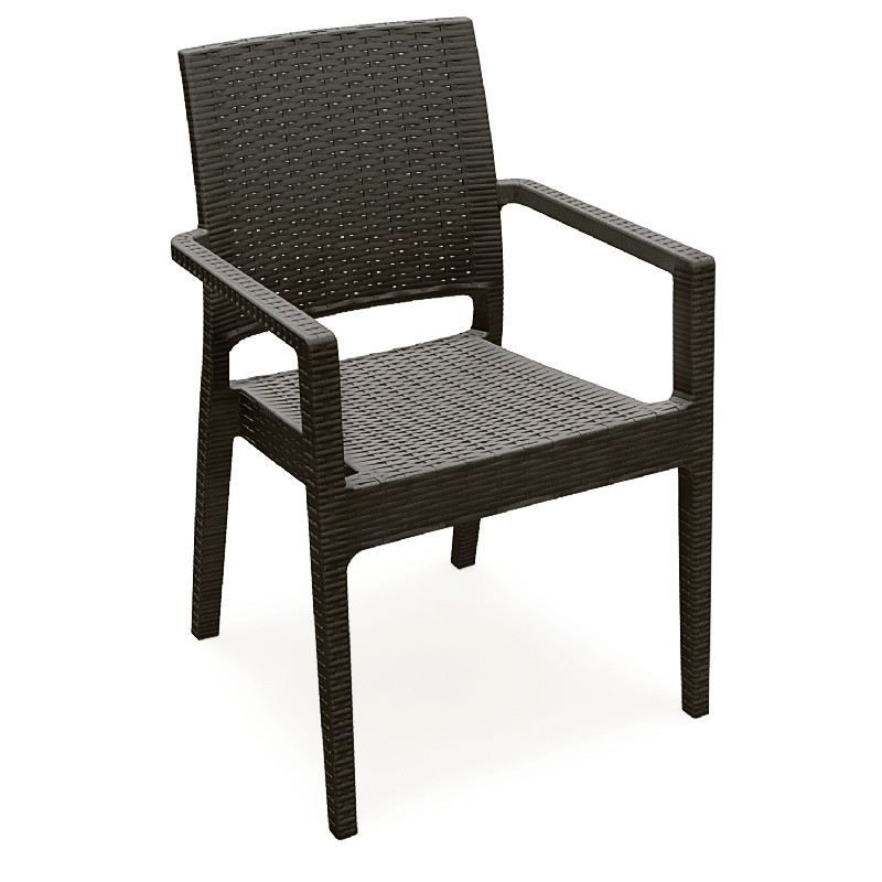 Ibiza Resin Dining Arm Chair  Photo