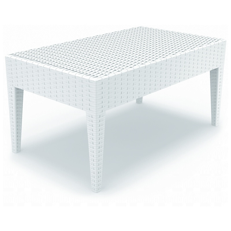 Compamia ISP BR Miami Rectangle Resin Coffee Table Picture 501