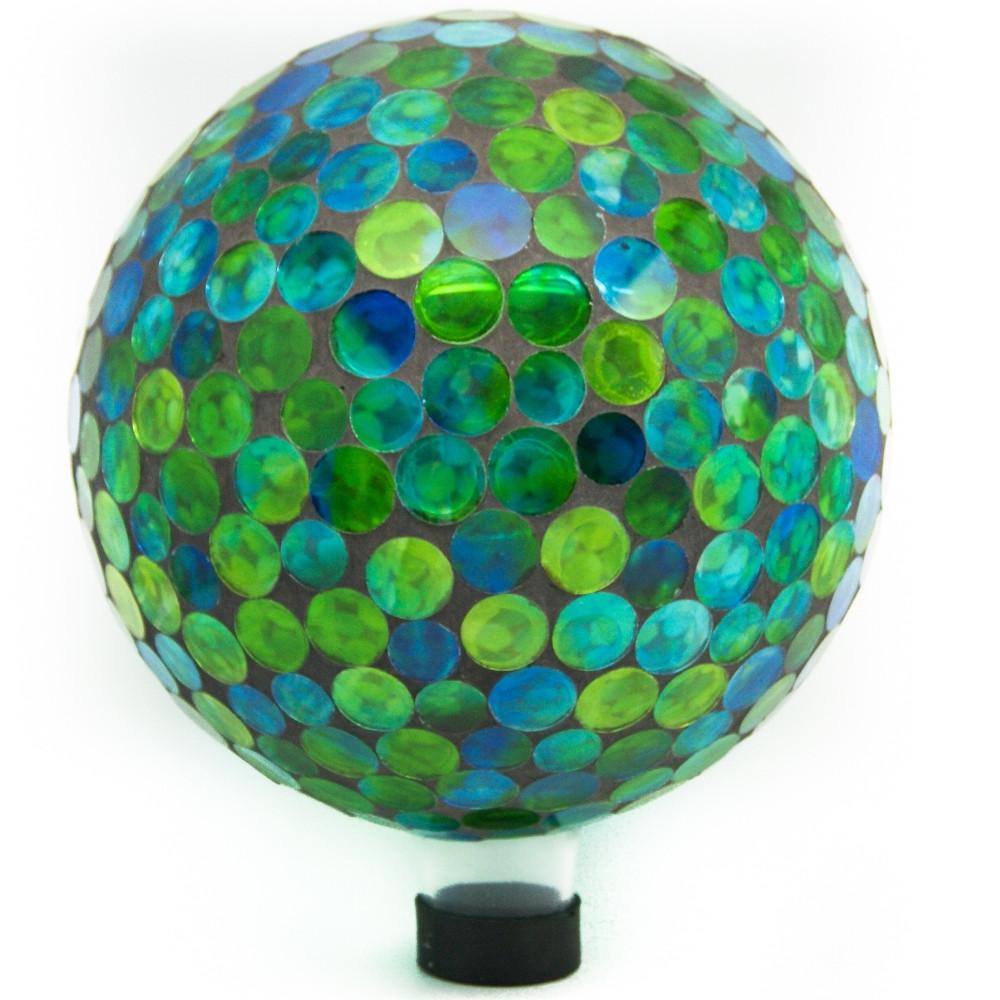 Alpine Mosaic Gazing Globe Photo