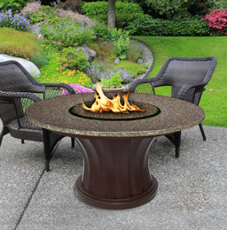 Rodeo Chat Fire Pit Table by California Outdoor Concepts