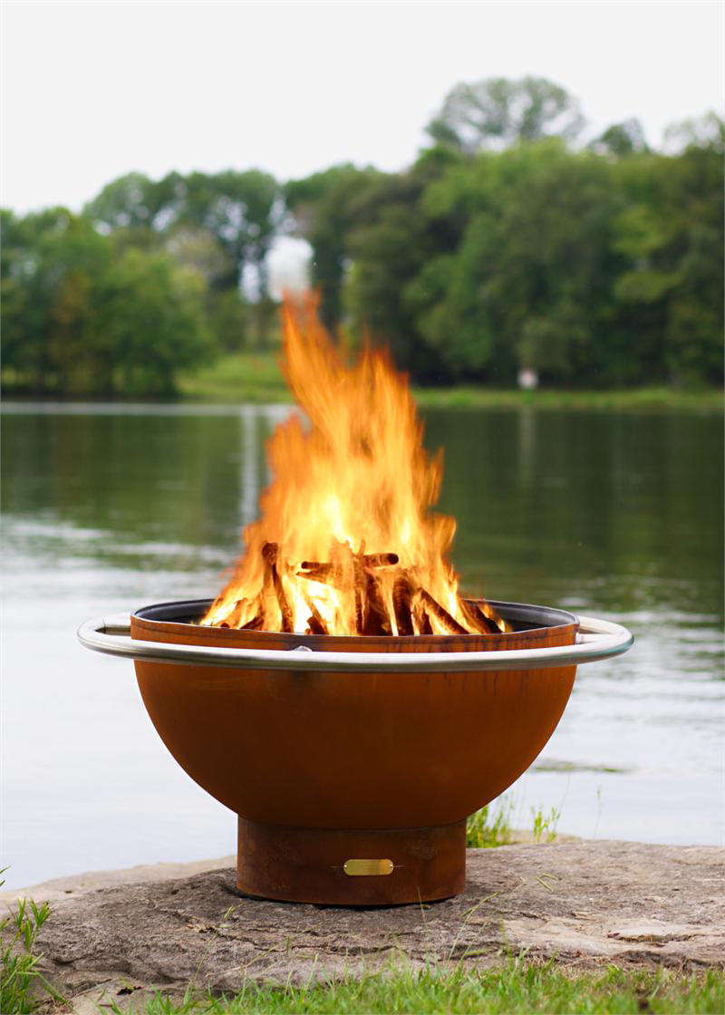 Image 1. - Bella Luna Fire Pit By Fire Pit Art Fire Pits & Outdoor Heating